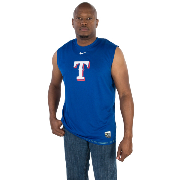 Texas Rangers Nike Authentic Collection Legend Sleeveless Tank