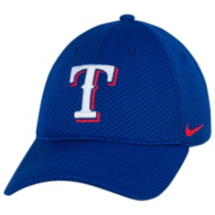 Texas Rangers Nike Dri-Fit Mesh Logo Cap
