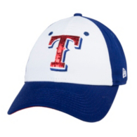 Texas Rangers New Era Junior Team Glimmer 9Twenty Cap