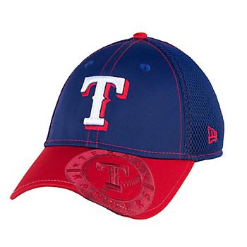 Texas Rangers New Era Junior Logo Crop Neo 39Thirty Cap