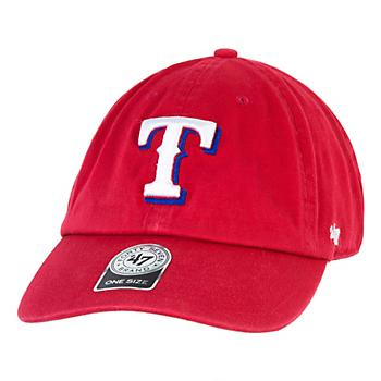 96853d4146829 Texas Rangers 47 Clean Up Adjustable Cap