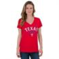 Texas Rangers Nike Womens Cotton V-Neck Tee