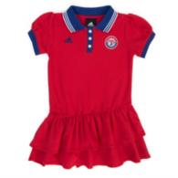 Texas Rangers Adidas Girls Polo Dress
