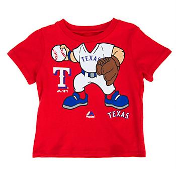 Texas Rangers Majestic Infant Short Sleeve Pint Tee
