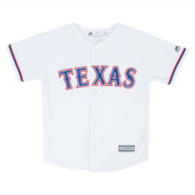 Texas Rangers Majestic Youth Jersey
