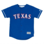 Texas Rangers Majestic Youth Royal Blue Alternate Jersey