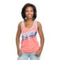 Texas Rangers 5th & Ocean Ladies Triblend Jersey Tank