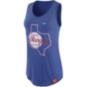 Texas Rangers Nike Womens Cooperstown Boy Tank