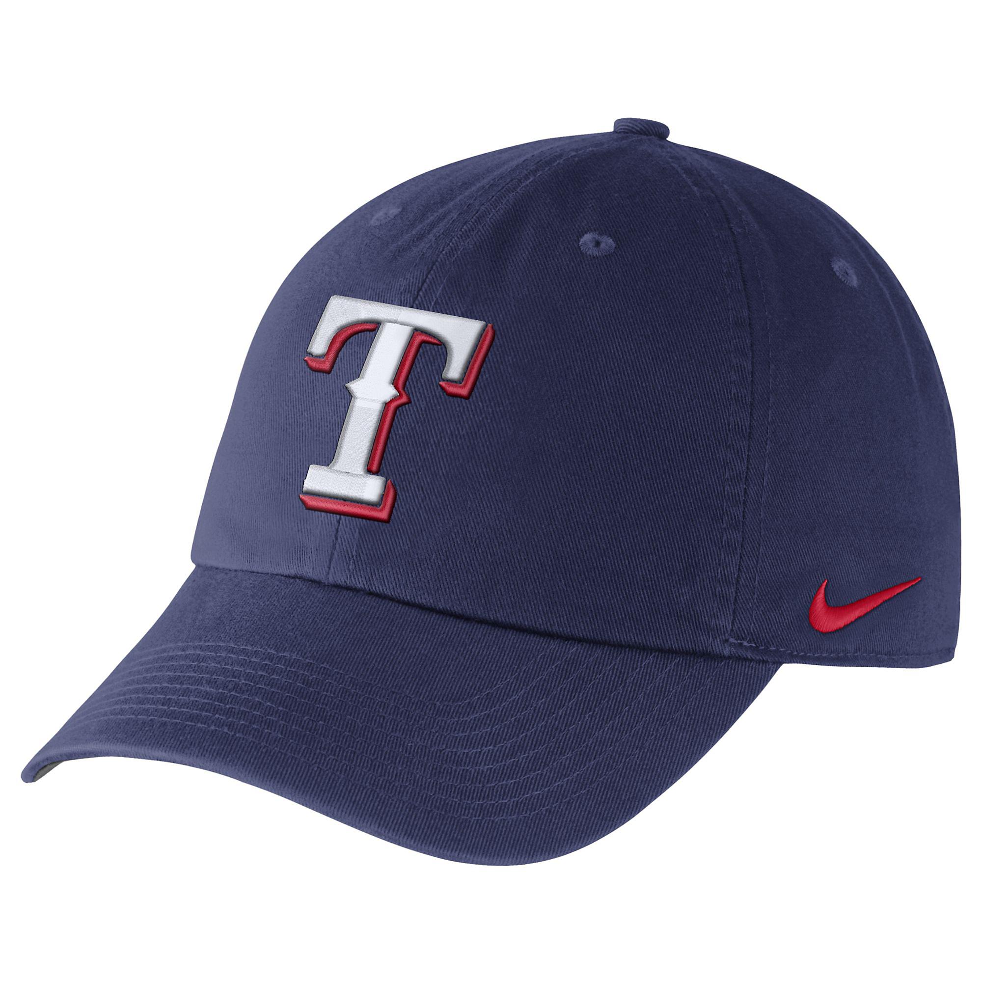 95aaa4560 Texas Rangers Nike Heritage 86 Dri-FIT Stadium Cap | Fans United