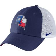 Texas Rangers Nike Heritage 86 Fabric Mix Cap