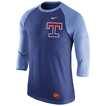 Texas Rangers Nike Cooperstown Raglan Tee