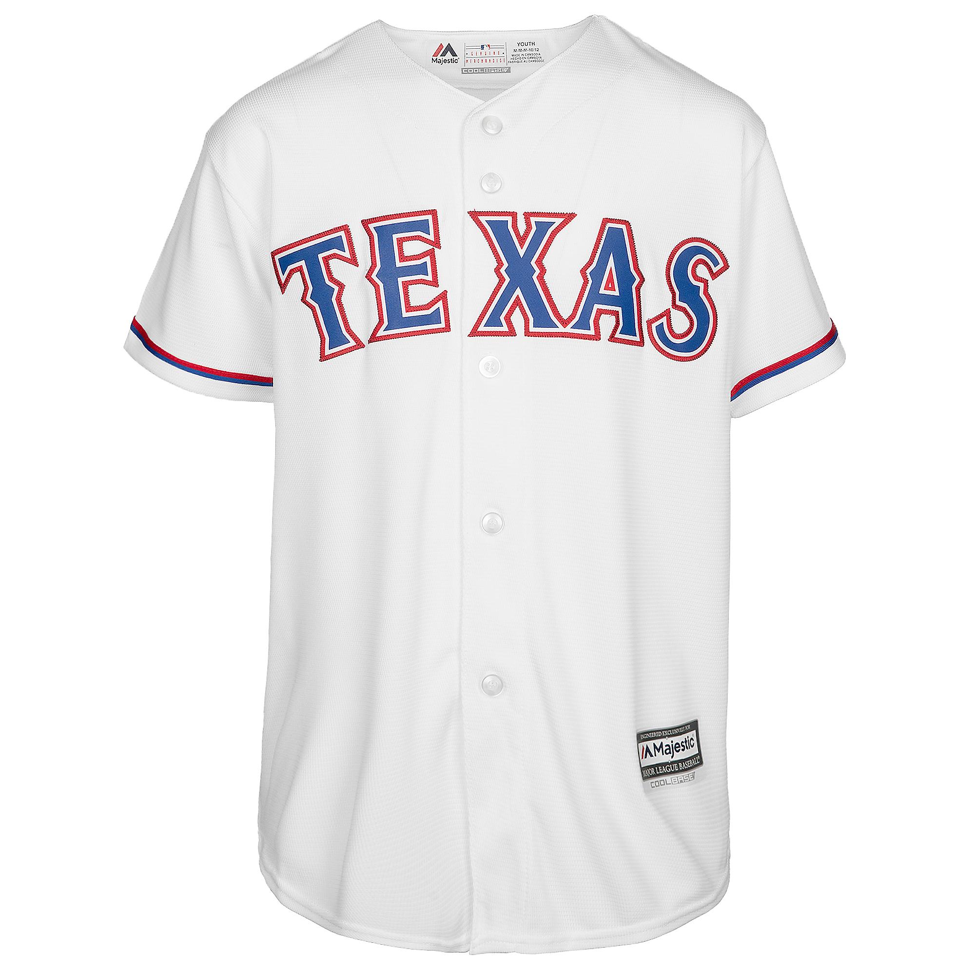 b82faaa93 Texas Rangers Majestic Youth Adrian Beltre  29 Cool Base Replica Home Jersey  ...