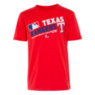 Texas Rangers Authentic Collection Youth Team Choice Tee