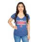 Texas Rangers 47 Womens Clutch Flanker V-Neck Tee