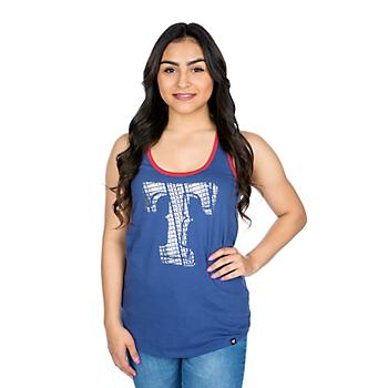 Texas Rangers 47 Womens Clutch Tank