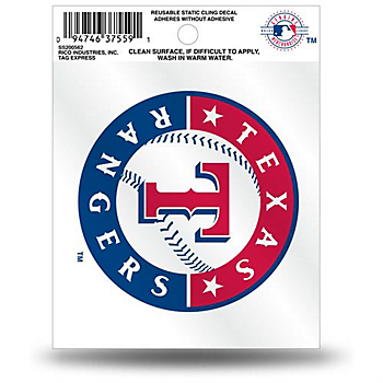 Texas Rangers Small Logo Decal