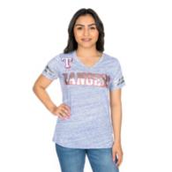 Texas Rangers G-III Womens Off Tackle Tee