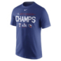 Texas Rangers Nike AL West Division Champs Short Sleeve Cotton Tee