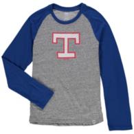 Texas Rangers Cooperstown Youth 2-to-1 Raglan Tee