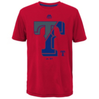Texas Rangers Majestic Youth Split Series Tee