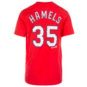 Texas Rangers Majestic Youth Cole Hamels Name and Number Tee