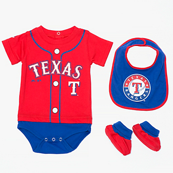 Texas Rangers Infant Tiny Player Set