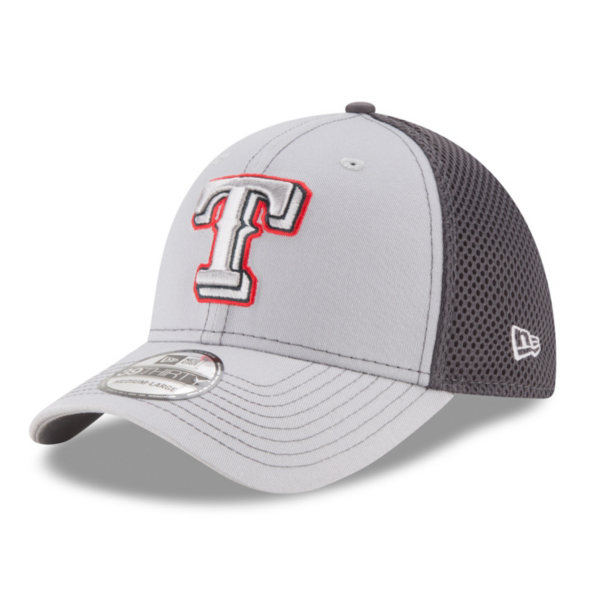 Texas Rangers New Era Grayed Out Neo 39Thirty Cap