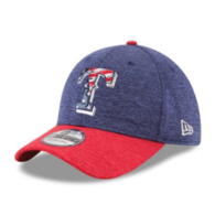 Texas Rangers New Era 4th of July 39Thirty Cap