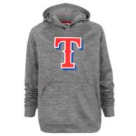 Texas Rangers Majestic Youth Club Fleece Hoody