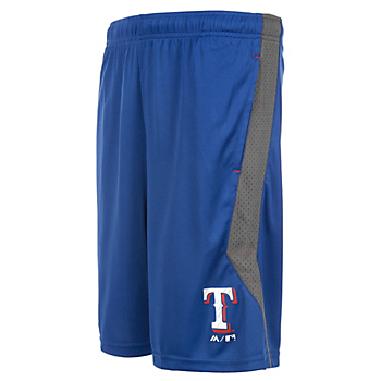 Texas Rangers Majestic Youth Excitement Short