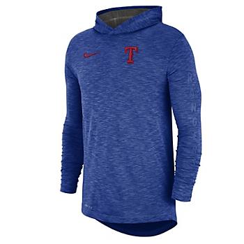 Texas Rangers Nike Slub Hoody T-Shirt