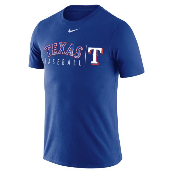 Texas Rangers Nike Practice T-Shirt