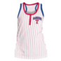 Texas Rangers 5th & Ocean Womens Pinstripe Racer Back Tank