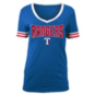 Texas Rangers 5th & Ocean Womens Baby Stripe Sleeve Jersey T-Shirt