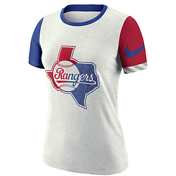 Texas Rangers Womens Nike Logo T-Shirt