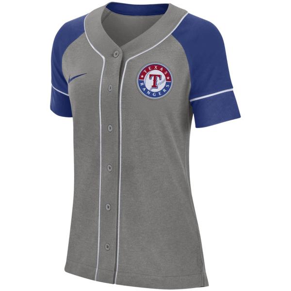 Texas Rangers Womens Nike Dry Jersey Top