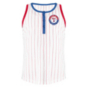 Texas Rangers 5th & Ocean Youth Pinstripe Racer Back Tank