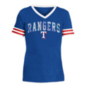 Texas Rangers 5th & Ocean Girls Baby Stripe Sleeve Jersey T-Shirt