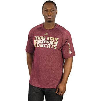 Texas State Bobcats Adidas Evade Tee