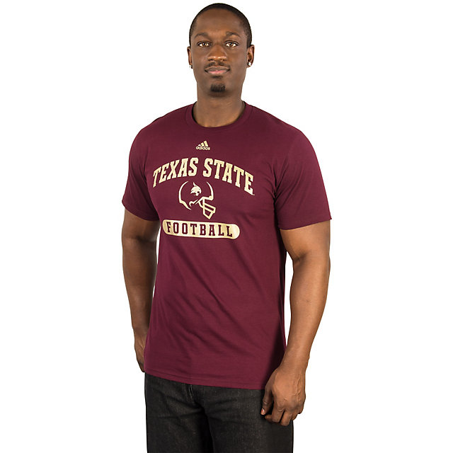 Texas State Bobcats Adidas Sport Arch Tee