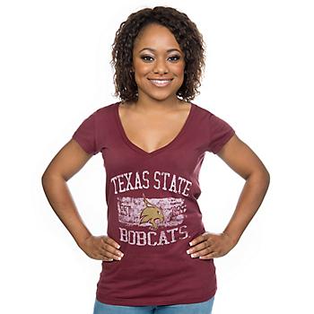 Texas State Bobcats Blue 84 Short Sleeve Tee