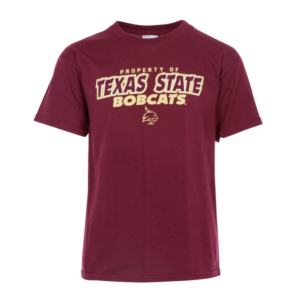 Texas State Bobcats J.America Youth Property of Tee