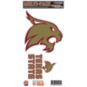 Texas State Bobcats 6x12 Movable 2-Pack Logo Decal