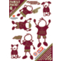 Texas State Bobcats 5x7 Family Decals