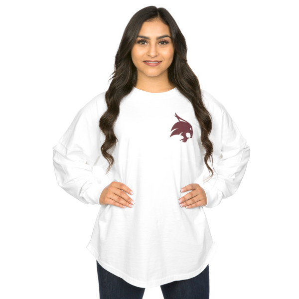 Texas State Bobcats Game Day Jersey Long Sleeve Tee