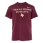 Texas State Bobcats Youth Dri-Fit Crew Neck Tee