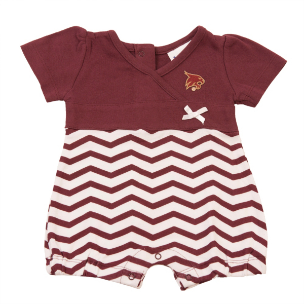 Texas State Bobcats Infant Chevron Romper