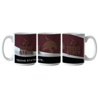 Texas State Bobcats Wave Mug