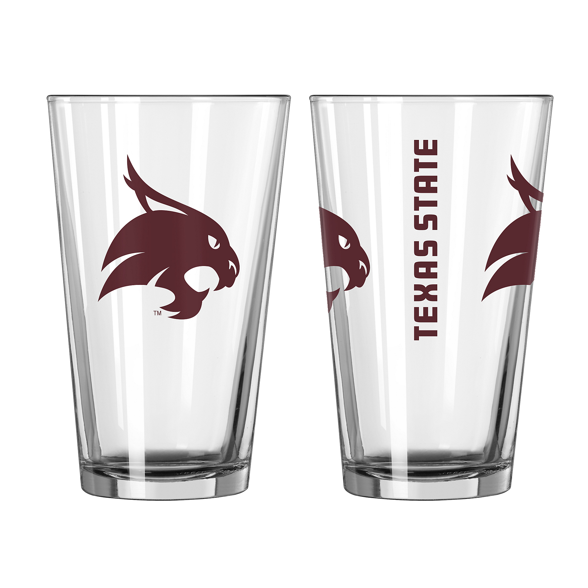 Texas State Bobcats 16oz Gameday Pint