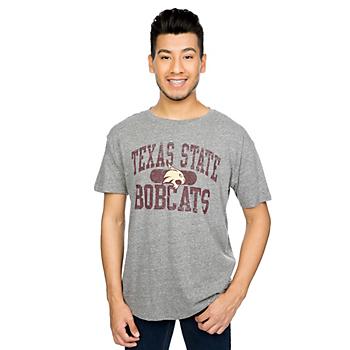 Texas State Bobcats J America Vintage Twisted Slub Tee